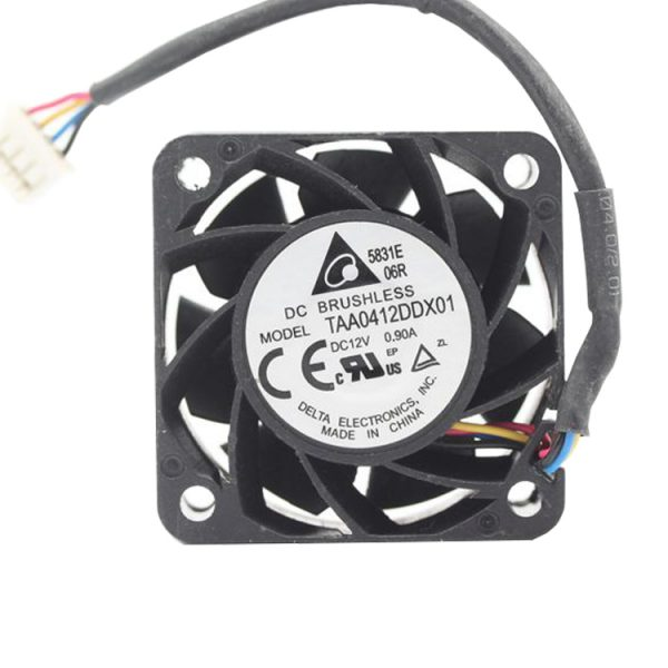 Original Delta TAA0412DDX01 4020 DC 12V 0.9A 4CM 40*40*20mm 4-line PWM Ultra Violent Cooling Fan
