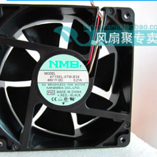 New original NMB 4715KL-07W-B39 48V 0.21A 12cm12038 120*120*38MM three lines radiating fan