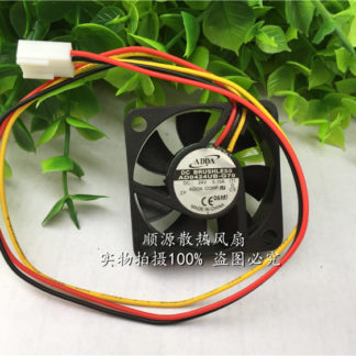ADDA Original AD0424UB-G70 DC 24V 0.1A 4010 40*40*10mm 3-Wires 6800RPM Double Ball Bearing inverter Cooling Fan