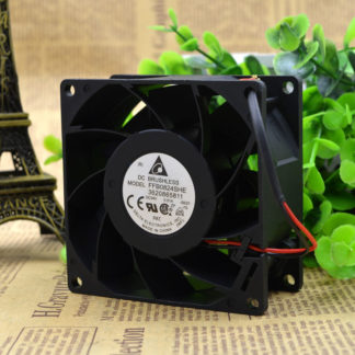 Free Delivery. AFB0624EH 24 v 0.18 A 6 cm / 6025 cm Double ball inverter fan