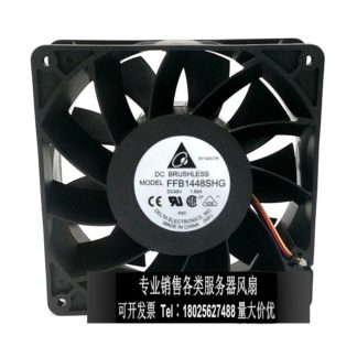 Original Delta FFB1448SHG 48V 1.66A 14051 140 * 140 * 51 mm three-line ball-bearing fan Frequency