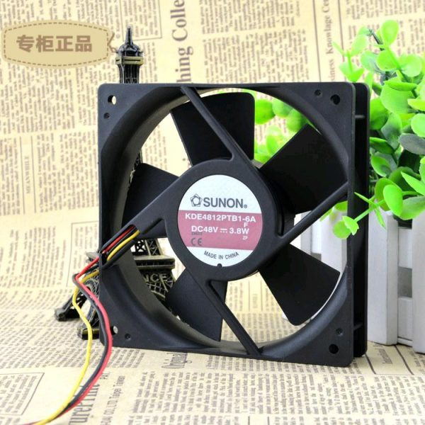Free Delivery. KDE4812PTB1 12 cm 12025-6 - a 48 v 3.8 W inverter fan