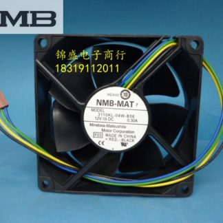 Original NMB 3110KL-04W-B56 8025 DC 12V 0.30A 4 wire PWM temperature control cooling fan