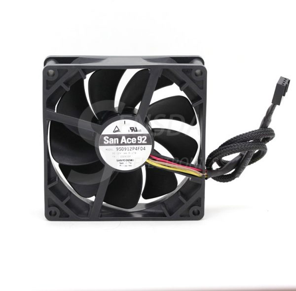 SANYO 9S0912P4F04 9225 PWM silent fan first high-end gamers server inverter cooling cooler