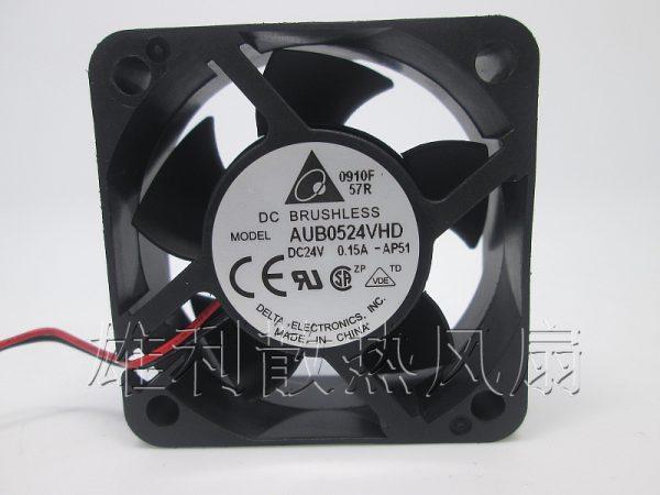 Free Delivery.AUB0524VHD 5020 24V 0.15A Inverter fan 5CM