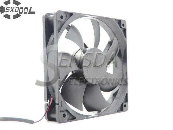 SXDOOL high quality axial DC fan 120x120x25 Cooler Cooling Fan 120*120*25 Genuine Power 12025 24V Radiator Fan