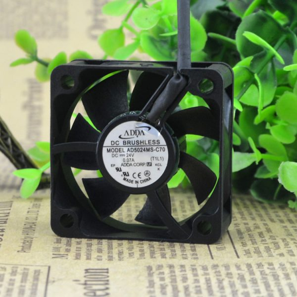 Free Delivery. 5020 AD5024MS - C70 24 v 0.07 A 2 line 5 cm inverter industrial computer fan