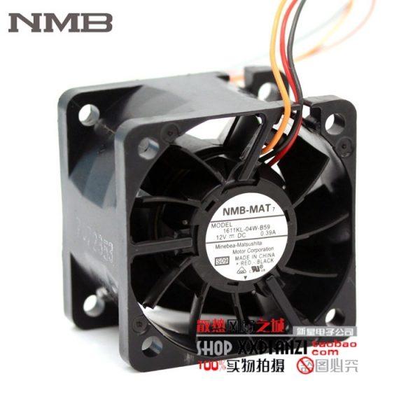 NMB 4CM 1611KL-04W-B59 12V 0.39A fan dual ball power 1U server