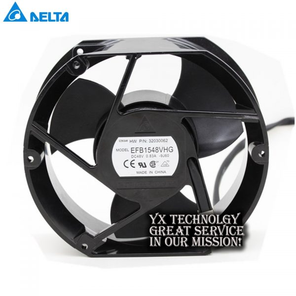 Delta New EFB1548VHG 17251 17cm 48V 0.83A circular drive cooling fan for 172*172*51mm