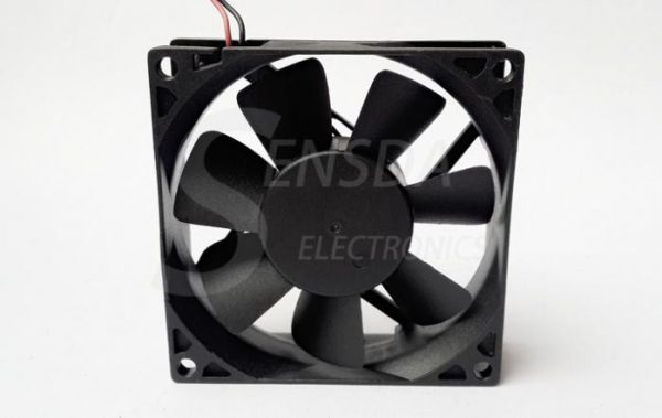New Original ADDA 80x25mm AD0824UB-A71GL DC 24V 0.26A 2Wire axial server inverter Cooling Fans