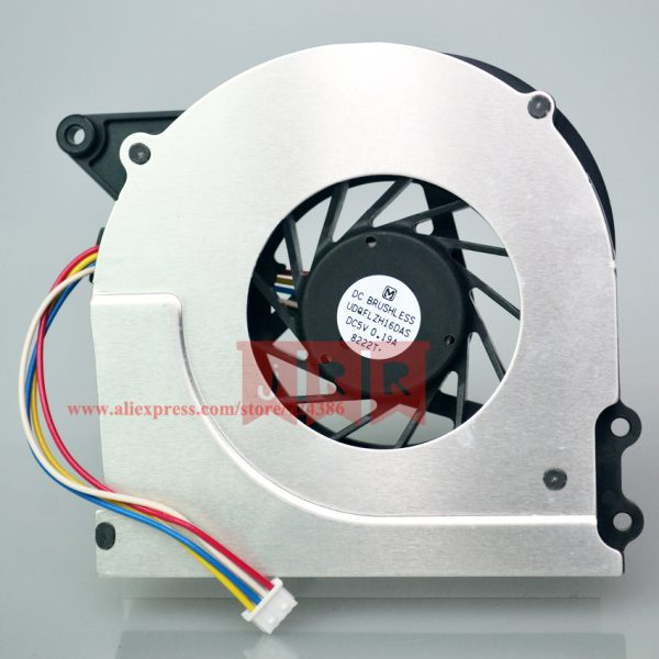 100% Original New Laptop CPU Cooler Fan For ASUS X51 X51C X51H X51L X51R X51RL X5EAE, Good Quality X51 X51RL Cpu Cooling Fan