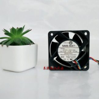 NMB 6038 2415KL-04W-B96 DC 12V 2.1A 6CM PWM Four Wire Temperature Control Large Air Volume Server Cooling Fan
