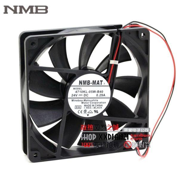 Original NMB 4710KL-05W-B40 12025 24V 0.29A 12CM inverter fan