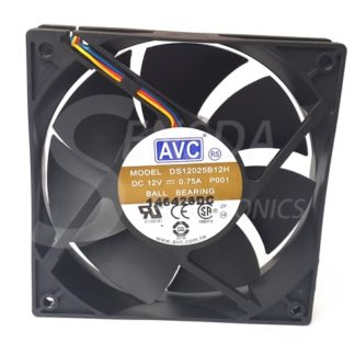 Original AVC DS12025B12H P001 12cm 120mm 12025 DC 12V 0.75A Cooling Fan pwm
