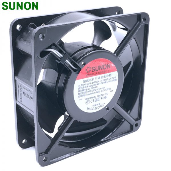 Original blower SUNON DP200A 2123XBT.GN 12CM 120*120*38MM 12038 220V socket case industrial cooling fan