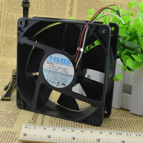 Free Delivery. 4715 kl - 05 w - B49 new original DC24V shaft diaspora hot fan fan 120 * 38 mm