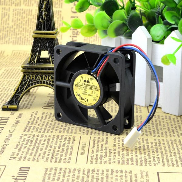 Original ADDA 6020 6CM 12V 0.13A AD0612MS-C76GL 60 * 60 * 20mm ultra-quiet fan