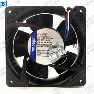4114 N / 2 h6 ebm new original 24 v, 65 w, 12038 12 cm The aluminum frame fan
