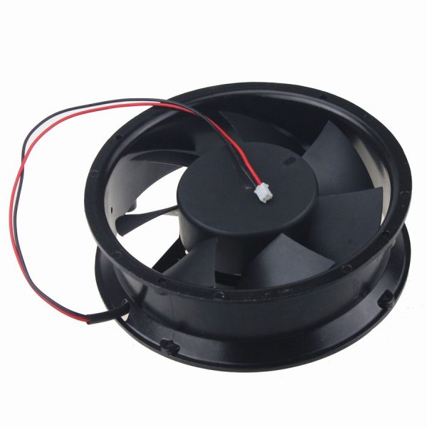 10Pcs/Lot Gdstime 170mm New Case Fan 12V DC 2 Pin Ball Bearing Metal Industrial Cooling Cooler 17251
