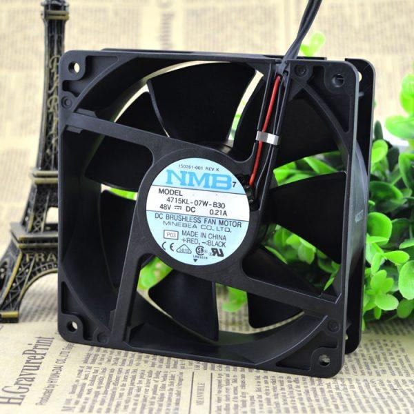 Free Delivery. 12 cm 4715 kl 12038-07 w - B30 48 v 0.21 A inverter dc fan