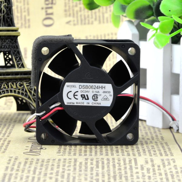 New original 6CM 6025 24V 0.14A DSB0624HH Ultra-quiet cooling fan