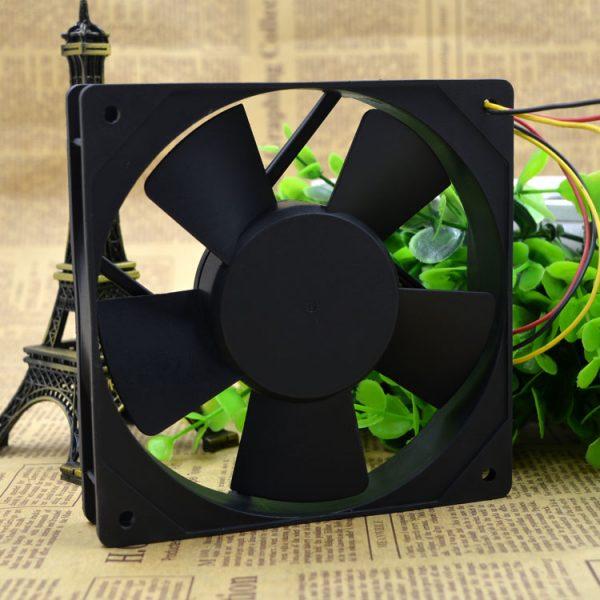 Free Delivery. 12 cm inverter fan KD1212PTB2-12 v 6 a 12 v 3.6 W home furnishings