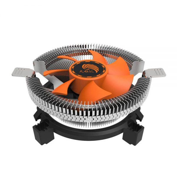 NEW CPU Cooling Cooler Fan Heatsink Blade For Intel LGA INTEL LGA1155/1156(I3/I5) Fashion Useful 18Mar1