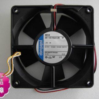 ebmpapst TYP 612 NGHH DC 12V 310MA 60x60x25mm Server Square fan