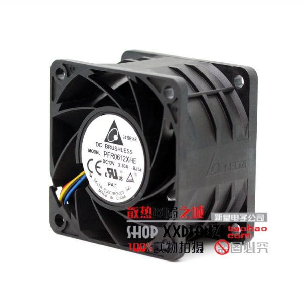 Free Shipping Delta 6038 PFR0612XHE/FFR0612DHE DC 12V 3.30A ultra violent strong air flow high speed axial fan
