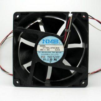 NMB 12 cm 48V 0.21A 4715KL-07W-B39 120*120*38 three wire inverter fan