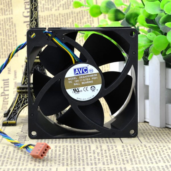 New original DESA0938B2M 9cm 9cm four-wire PWM CPU temperature control dual-ball high-pressure gales chassis fan