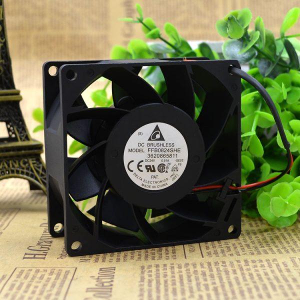 Free Delivery. 8 cm inverter fan CV330A inverter fan FFB0824SHE DC24V