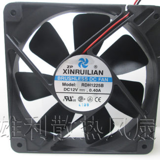 Free Delivery.RDH1225B original 12V 0.40A 120 * 120 * 25 12CM axial fan
