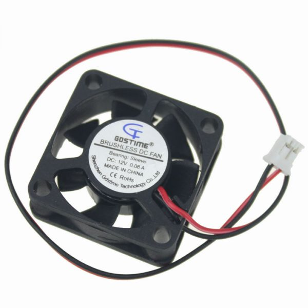 Gdstime 5 Pcs 3CM 30mm 30x30x10mm 3010 12V DC Micro Axial Cooling Cooler Fan