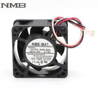 Original NMB 2410VL-S5W-B69 6CM 6025 24V 0.15A three-wire waterproof inverter fan