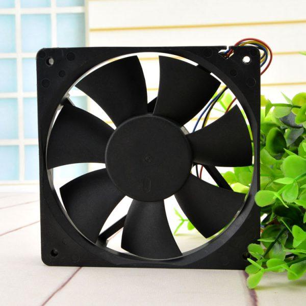 AVC DA12025B12L 12cm 120*120*25MM 12025 DC 12V 0.3A 4-Pin Speed control PC Case Cooling Fan