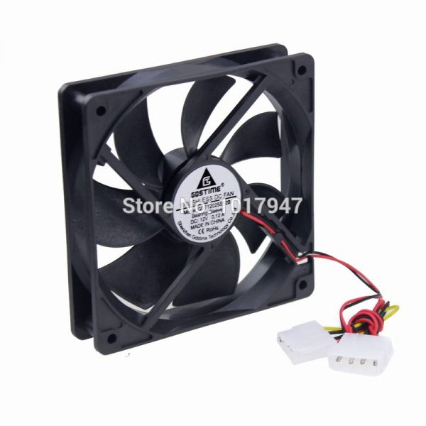 Free Delivery. PAPST4214 axial flow fan is 120 * 120 * 12 cm 38 mm cooling fan fan 24 v