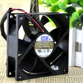 The original AVC 8CM 80*80*25 12V 0.70A DS08025B12U dual ball 2 lines radiating fan