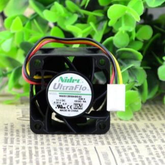 Original Authentic NIDEC 40*40*28mm 4CM DC 12V 0.24A W40S12BS8AB5-52 3 Line Violent Cooling Fan