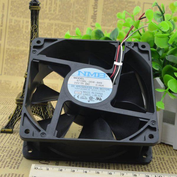 Free Delivery. 4715 kl - 05 w - B49 new original DC24V shaft diaspora hot fan fan 120 * 38 mm