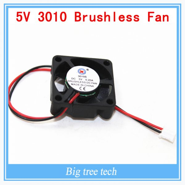 3010s 30MM 30 x 30 x 10MM 5V 2Pin DC Cooler Small Cooling Fan FOR 3D PRINTER PART with free shipping