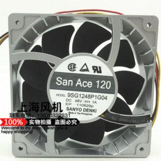 Original SANYO 48V 9SG1248P1G04 1A High speed 12cm12038 120 * 120 * 38MM Cooling fan