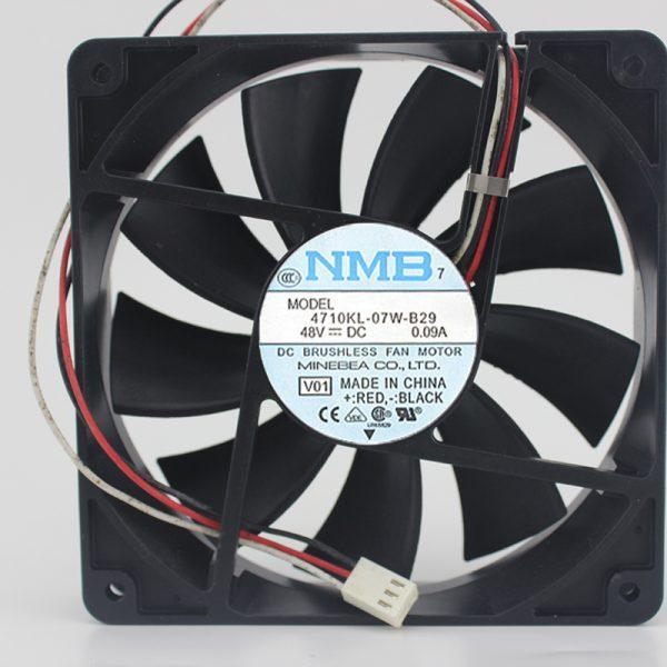 4710KL-07W-B29 48V 0.09A 120 * 120 * 25MM original cooling fan