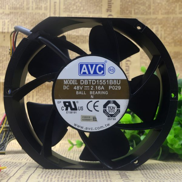 New original DBTD1551B8U 48V 2.16A wind volume four-wire pwm speed fan