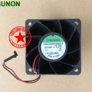 Original SUNON fan 6038 48V 6.2W PMD4806PMB3-A 2 -line axial cooling fans