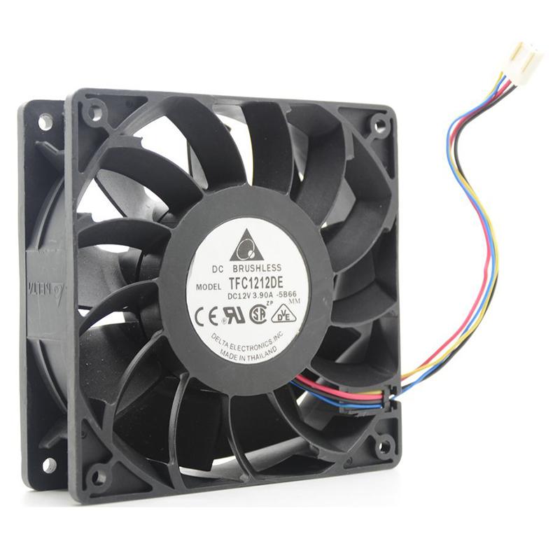 Delta TFC1212DE DC12V 3.90A Cooling Fan