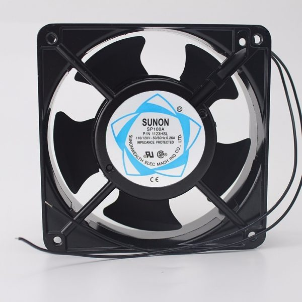 SUNON SP100A 12CM 12038 120*120*38MM 1238 110/120V 3 Line Socket Industrial Cooling Fan
