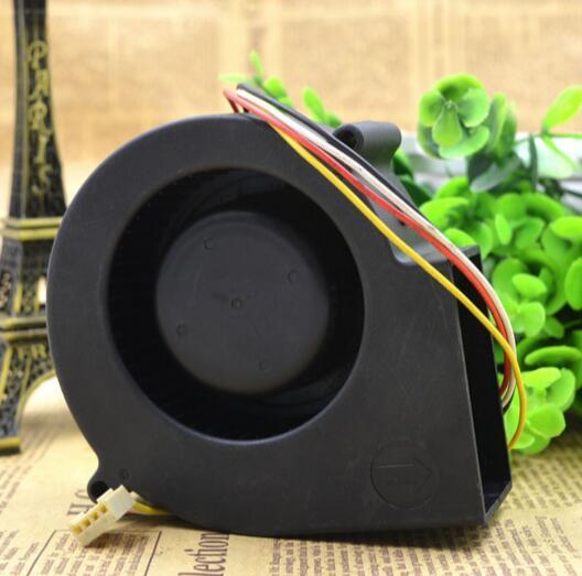 AVC 9733 F9733B12MT 9 cm 12V 0.95A 4-wire blower fan fan opposite hole 100mm