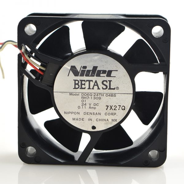 New original D06G-24TH04BS 6020 6CM 24V 0.11a printer inverter power supply fan