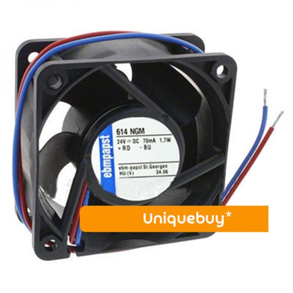 8124K 8CM 5W All metal 12V High temperature resistance for ebmpapst cooling fan